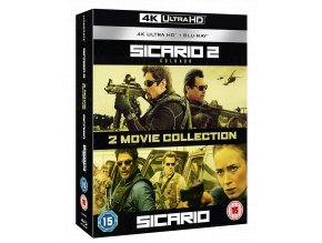 sicario 4k ultra hd blu ray kolekce import