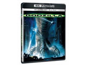 Godzilla (4k Ultra HD Blu-ray + Blu-ray, CZ pouze na UHD)