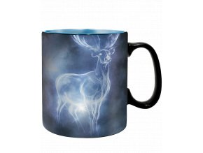 Měnící se hrnek Harry Potter: Patronus (460 ml)