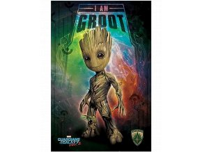 Plakát Marvel: Strážci galaxie 2 - I am Groot (91,5 x 61 cm)
