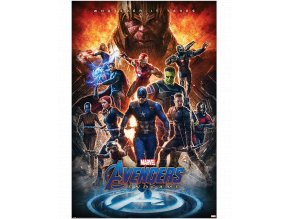 Plakát Marvel: Avengers Endgame - Whatever it Takes (91,5 x 61 cm)
