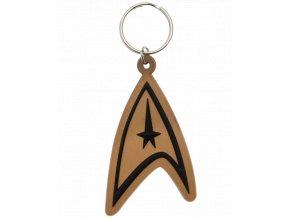 Klíčenka Star Trek: Odznak Hvězdné flotily