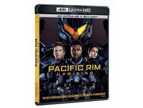 Pacific Rim: Povstání (4k Ultra HD Blu-ray + Blu-ray, CZ pouze na UHD)