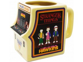 3D Hrnek Stranger Things: Arcade Machine (500 ml)