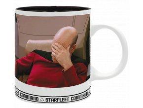 Hrnek Star Trek: Picard Facepalm Meme (320 ml)