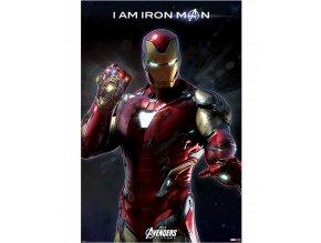 Plakát Marvel: Avengers Endgame - I am Iron Man (91,5 x 61 cm)