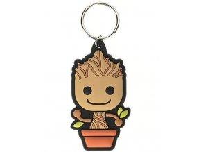 Klíčenka Marvel: Baby Groot v květináči