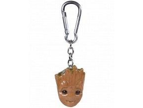 3D Klíčenka Marvel: Baby Groot