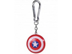 3D Klíčenka Marvel: Captain America - Štít