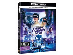 Ready Player One: Hra začíná (4k Ultra HD Blu-ray + Blu-ray, CZ pouze na UHD)