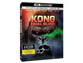 Kong: Ostrov lebek (4k Ultra HD Blu-ray + Blu-ray, Bez CZ)