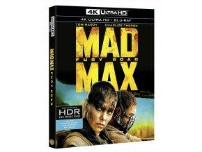Šílený Max: Zběsilá cesta (4k Ultra HD Blu-ray + Blu-ray, Bez CZ)