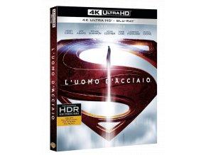 Muž z oceli (4k Ultra HD Blu-ray + Blu-ray, CZ pouze na UHD)