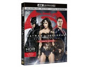 Batman vs. Superman: Úsvit spravedlnosti (4k Ultra HD Blu-ray + Blu-ray, CZ pouze na UHD)