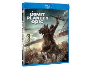 Úsvit planety opic (Blu-ray)