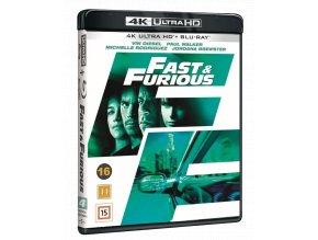 Rychlí a zběsilí (4k Ultra HD Blu-ray + Blu-ray, CZ pouze na UHD)
