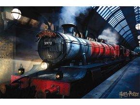 Plakát Harry Potter: Bradavický expres (61 x 91,5 cm)