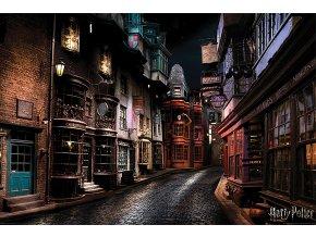 Plakát Harry Potter: Příčná ulice (61 x 91,5 cm)