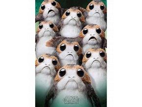 Plakát Star Wars: Poslední z Jediů - Porgové (61 x 91,5 cm)