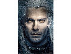 Plakát Zaklínač: Geralt (91,5 x 61 cm)