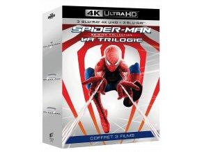 Spider-Man 1-3 (Trilogie, 3x 4k Ultra HD Blu-ray + 3x Blu-ray, CZ dabing a titulky pouze na UHD)