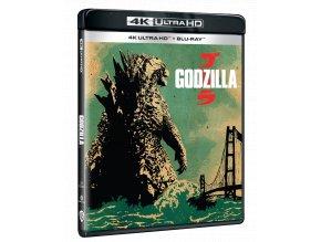 Godzilla (2014, 4k Ultra HD Blu-ray + Blu-ray)