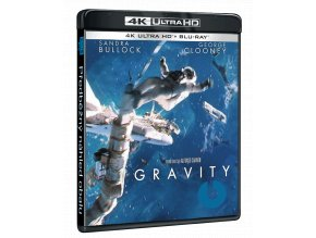 Gravitace (4k Ultra HD Blu-ray + Blu-ray)