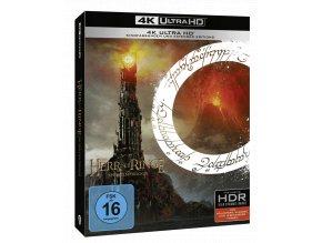 Trilogie Pán prstenů (Rozšířené verze i Kinosestřihy, 6x 4k Ultra HD Blu-ray)