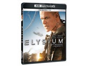 Elysium (4k Ultra HD Blu-ray + Blu-ray, CZ pouze na UHD)