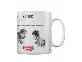 Hrnek Stranger Things: Význam slova Kompromis (315 ml)