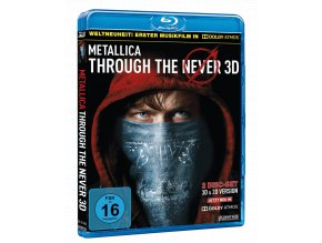 Metallica: Through the Never 3D (Blu-ray 3D + Blu-ray 2D)