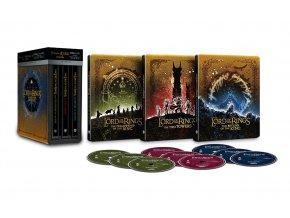Trilogie Pán prstenů 4k (Steelobook, Rozšířené verze i Kinosestřihy, 6x 4k Ultra HD Blu-ray)