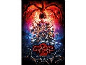 Plakát Stranger Things 2: Hlavní hrdinové