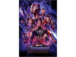 Plakát Marvel: Avengers Endgame - Konec cesty (91,5 x 61 cm)