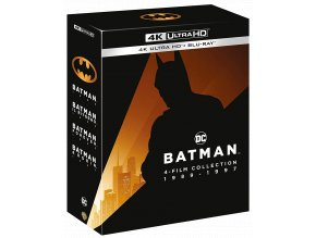 Kolekce Batman (4x 4k: Batman, Batman se vrací, Batman navždy, Batman a Robin)