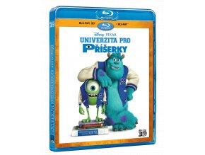 Univerzita pro příšerky (Blu-ray 3D + Blu-ray 2D)
