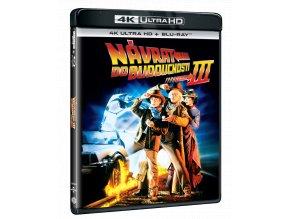 Návrat do budoucnosti III (4k Ultra HD Blu-ray + Blu-ray)