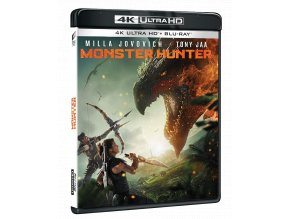 Monster Hunter (4k Ultra HD Blu-ray + Blu-ray)