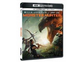 Monster Hunter (4k Ultra HD Blu-ray + Blu-ray)