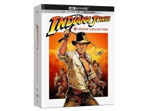 Indiana Jones 1-4 (4k kolekce, 4x 4k Ultra HD Blu-ray + 5x Blu-ray)