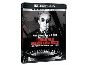 Dr. Divnoláska aneb Jak jsem se naučil nedělat si starosti a mít rád bombu (4k Ultra HD Blu-ray)