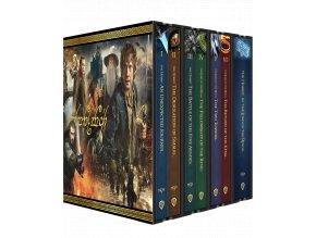 Kolekce Středozemě (Trilogie Pán Prstenů a Hobit, Prodloužené verze i kinosestřihy, 4k Ultra HD Blu-ray + Blu-ray, 31 disků)