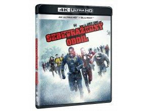 Sebevražedný oddíl (2021, 4k Ultra HD Blu-ray + Blu-ray)