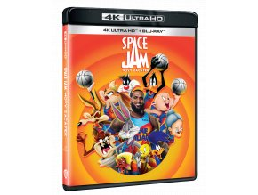 Space Jam: Nový začátek (4k Ultra HD Blu-ray + Blu-ray)