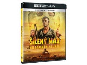 Šílený Max 2: Bojovník silnic (4k Ultra HD Blu-ray + Blu-ray)