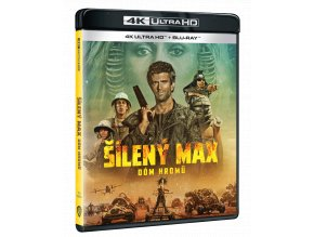 Šílený Max 3: Dóm hromů (4k Ultra HD Blu-ray + Blu-ray)