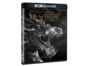 Hra o trůny - 5. sezóna (4x 4k Ultra HD Blu-ray)