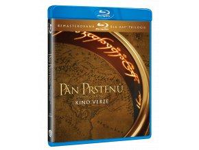 Trilogie Pán prstenů (Remasterované Kinoverze, 3x Blu-ray)