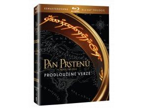 Trilogie Pán prstenů (Remasterované Rozšířené verze, 6x Blu-ray)