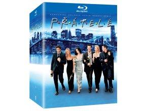 Přátelé - 1. až 10. sezóna (20x Blu-ray)